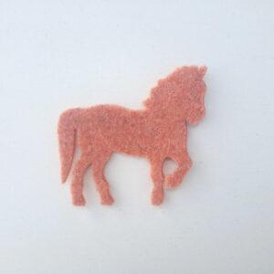 Sagoma cavallo in feltro - Cose di laura creatività in feltro