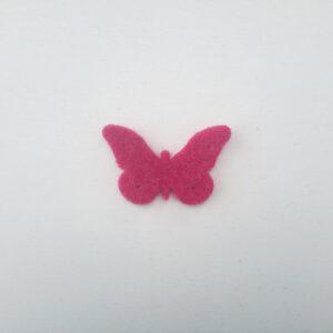 Sagoma farfalla in feltro - Cose di Laura creatività in feltro