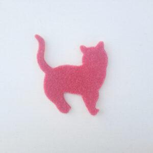 Sagoma gatto in feltro - Cose di Laura creatività in feltro