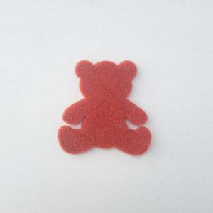 Sagoma orsetto in feltro - Cose di Laura creatività in feltro