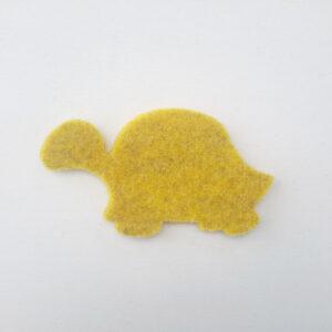 Sagoma tartaruga in feltro - Cose di Laura creatività in feltro