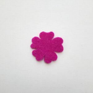 Sagoma fiore in feltro - Cose di Laura creatività in feltro