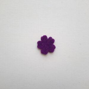 Sagoma fiore in feltro- Cose di Laura creatività in feltro