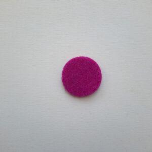 Sagoma bollo piccolo in feltro - Cose di Laura creatività in feltro