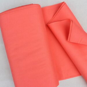 Panno lana al metro color corallo rosso - Cose di Laura creatività in feltro