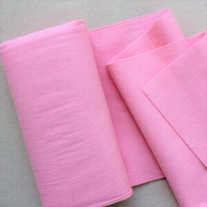 Panno lana al metro color rosa - Cose di Laura creatività in feltro