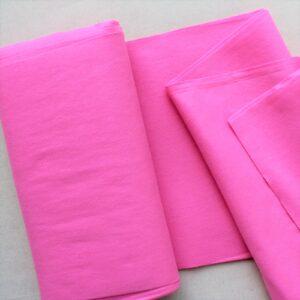 Panno lana al metro color rosa acceso - Cose di Laura creatività in feltro