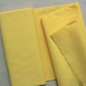 Panno lana al metro color pulcino - Cose di Laura creatività in feltro