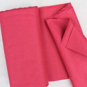 Panno lana al metro color fragola - Cose di Laura creatività in feltro