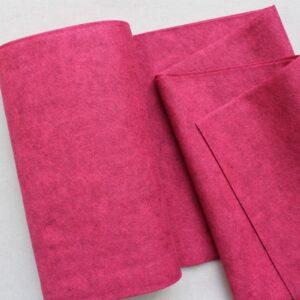 Panno lana al metro color lampone - Cose di Laura creatività in feltro