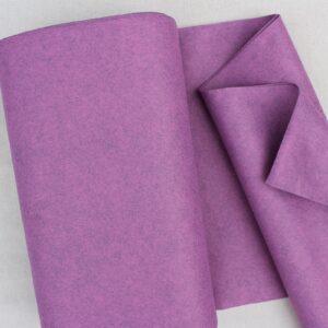 Panno lana al metro color malva - Cose di Laura creatività in feltro