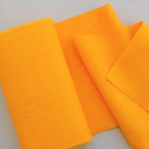 Panno lana al metro color sole - Cose di Laura creatività in feltro