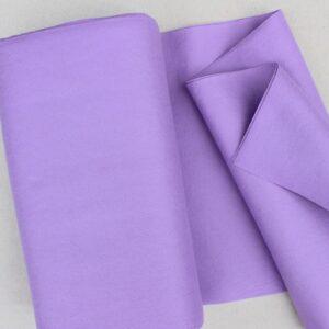 Panno lana al metro color glicine - Cose di Laura creatività in feltro