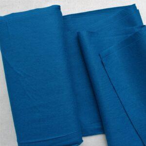 Panno lana al metro color cobalto - Cose di Laura creatività in feltro