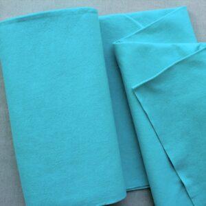 Panno lana al metro color acqua - Cose di Laura creatività in feltro