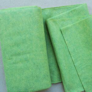 Panno lana al metro color verdino - Cose di Laura creatività in feltro