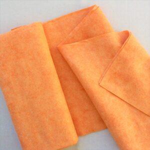 Panno lana al metro color albicocca - Cose di Laura creatività in feltro