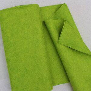 Panno lana al metro color lime - Cose di Laura creatività in feltro