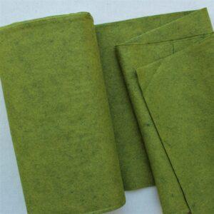 Panno lana al metro color palude - Cose di Laura creatività in feltro