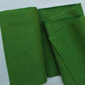 Panno lana al metro color abete - Cose di Laura creatività in feltro