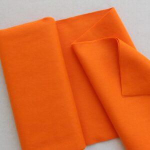 Panno lana al metro color arancione - Cose di Laura creatività in feltro
