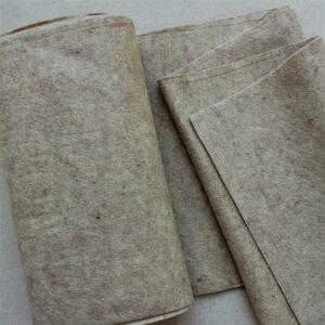 Panno lana al metro color sabbia - Cose di Laura creatività in feltro