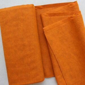 Panno lana al metro color zucca - Cose di Laura creatività in feltro