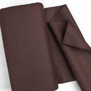 Panno lana al metro color marrone - Cose di Laura creatività in feltro