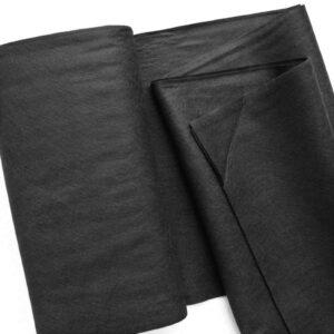 Panno lana al metro color nero - Cose di Laura creatività in feltro