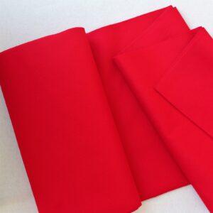 Panno lana al metro color rosso - Cose di Laura creatività in feltro