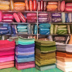 Panno lana spessore 1 mm