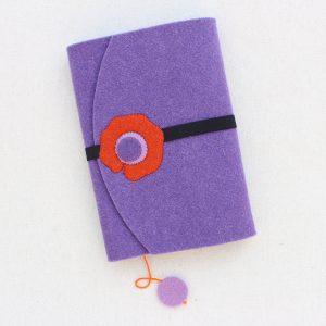 Fodera per libri - Cose di Laura creatività in feltro