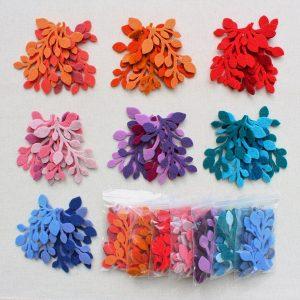 Mix rametti in feltro colori assortiti - Cose di Laura creatività in feltro